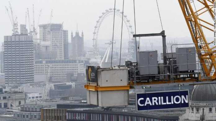 43,000 jobs at stake as UK firm goes bust