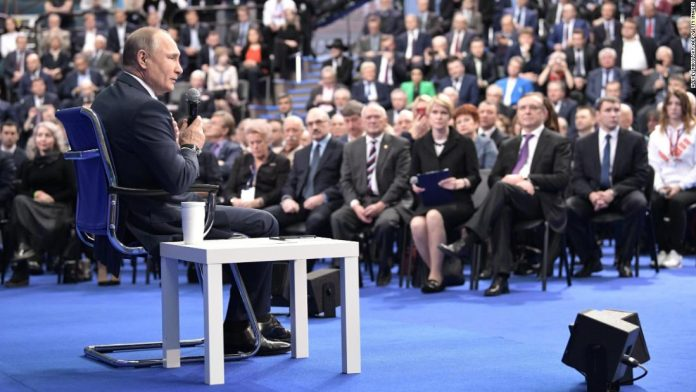 'Putin list': A Who's Who of Russia's political and business elite