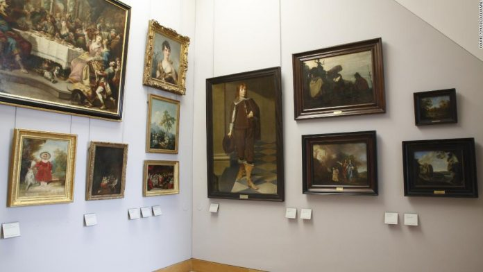 Louvre tries to find owners of Nazi-seized artwork
