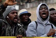 Macerata: Anti-racism protest after migrant shooting in Italy