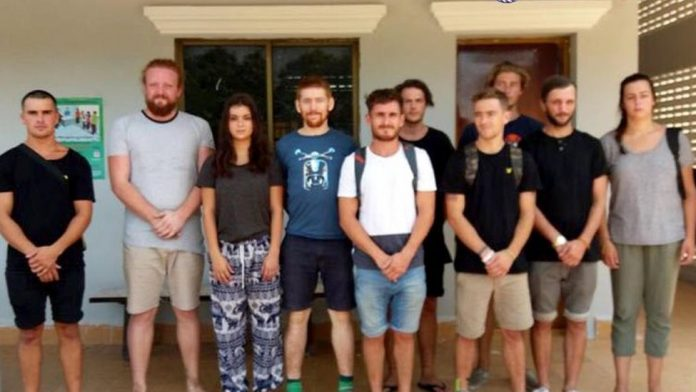Cambodia deports seven tourists accused of producing pornography