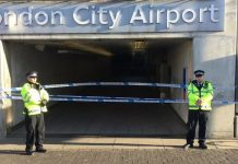 London City Airport shut as WW2 bomb found in Thames