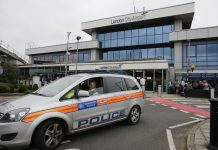 London airport shut after WWII bomb