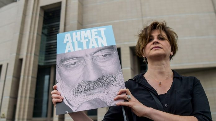 Six Turkish journalists jailed for life for 'coup links'