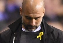 Pep Guardiola: Manchester City manager charged for wearing political ribbon