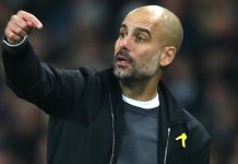Pep vows to keep wearing Catalan yellow ribbon