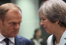 Theresa May to meet Donald Tusk ahead of Brexit 'end state' speech