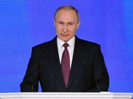 Putin reveals Russia's 'invincible missile' in pre-election speech